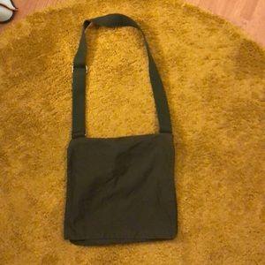 Gap army green messenger bag